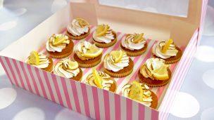 Cupcake façon tarte au citron meringué